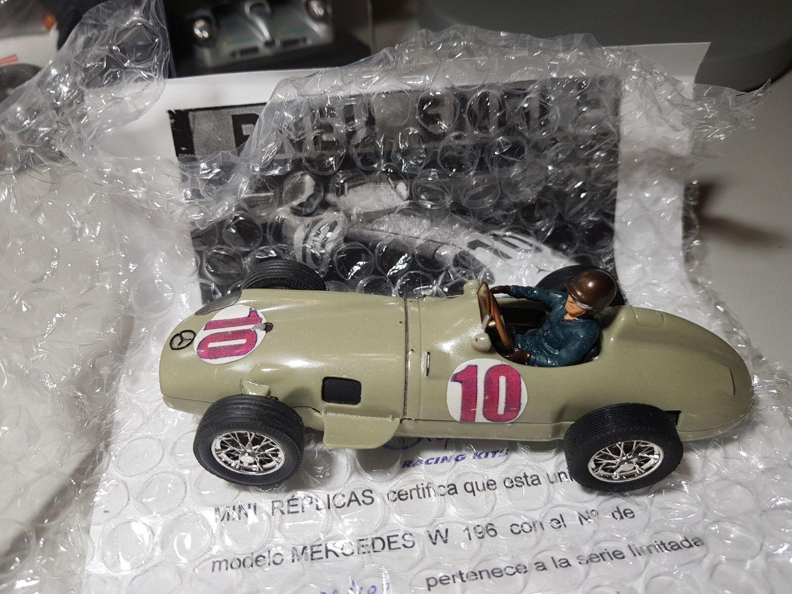 MERCEDES W196 J FANGIO REF-83600002 MINIREPLICAS