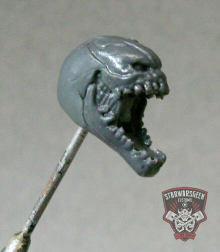 "MH018 Custom Cast Venom Head utiliser avec 3.75/"" Star Wars Gi Joe Marvel Universe Figure"