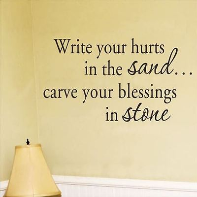 Huhome PVC Wall Stickers Wallpaper English Romantic poetry Write Your religious