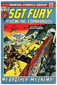 Sgt-Fury-and-His-Howling-Commandos-105-VF-7-5-Marvel-Comics-December-1972