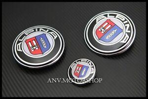 hood trunk emblem badge for bmw alpina e46 e87 e90 e91 m3. Black Bedroom Furniture Sets. Home Design Ideas