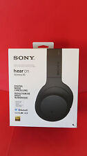 Sony MDR-100ABN h.ear on Wireless/Wired Headphones- Black- Pre Owned- Boxed