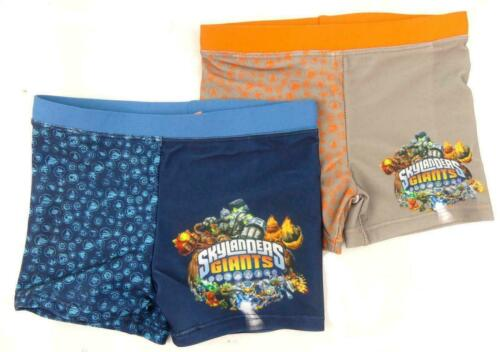 Boys Skylander Giants Swimming Trunks Two Colours Ages 2 3 4 5 6 And 8 Years
