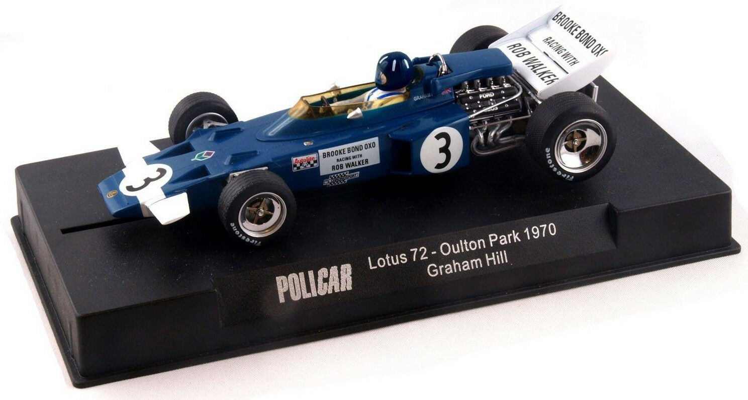 - es policar lotus 72 - graham hill - 1970 oulton park 1   32 slot car car02b
