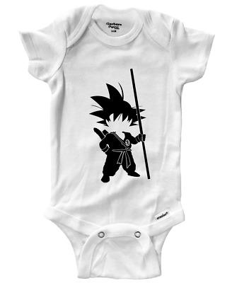 Infant Baby Rib Bodysuit Clothes Print Baby shower Gift Go Berry Anime Evolve