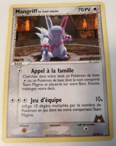 Pokemon-Carte-Mangriff-de-Team-Magma-23-95-Ex-Team-Aqua-Rare-Francaise
