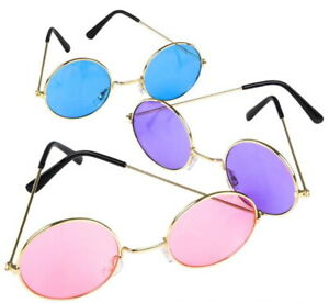 ff5d7a2204a John Lennon Style Vintage Retro Classic Circle Round Sunglasses Free ...
