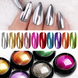 Nail-Mirror-Powder-Dust-Purple-Pink-Metal-Effect-Nail-Art-Chrome-Pigment-Decor