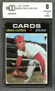 Steve-Carlton-Card-1971-Topps-55-St-Louis-Cardinals-BGS-BCCG-8
