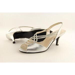 b5768a2663337f Caparros Philomena Gemmed Slingback Dress Sandals 961 Silver ...
