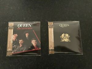 Queen-Greatest-Hits-amp-Greatest-Hits-II-Japan-SHM-CD-Mini-LP-RARE-OOP