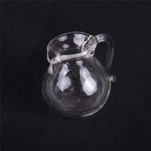 1:12 Dollhouse Miniatures Simulation Model Glass Kettle Crafts Furniture toy LE