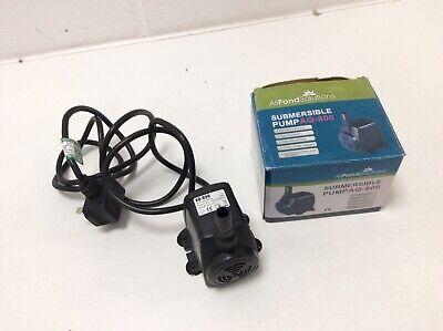 All Pond Solutions Pompa Stagno AQ-800   eBay
