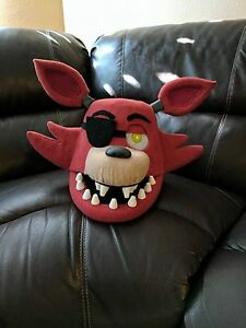Image is loading Foxy-Costume-Mask-Moveable-Jaw-FNAF-Five-Nights- & Details about Foxy Costume Mask! Moveable Jaw! FNAF!! Five Nights at Freddyu0027s