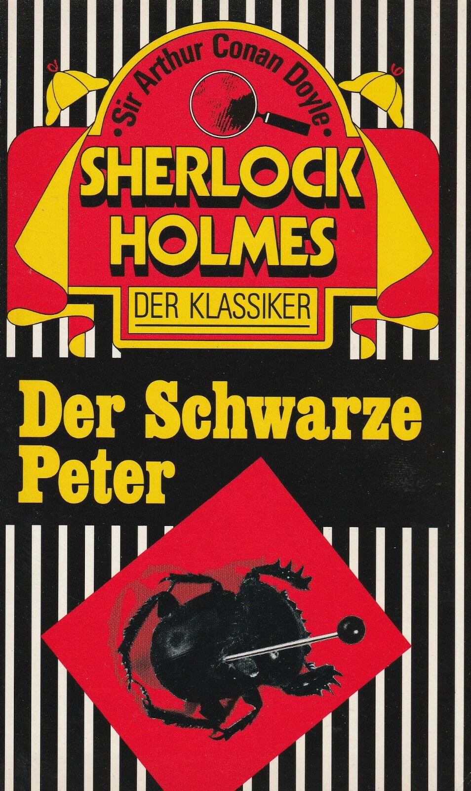 SHERLOCK HOLMES - Der Schwarze Peter - Sir Arthur Conan Doyle - TB