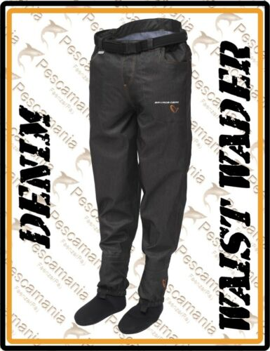 Wader Savage Gear DENIM 3 couche Pantalon respirant imperméable jeans