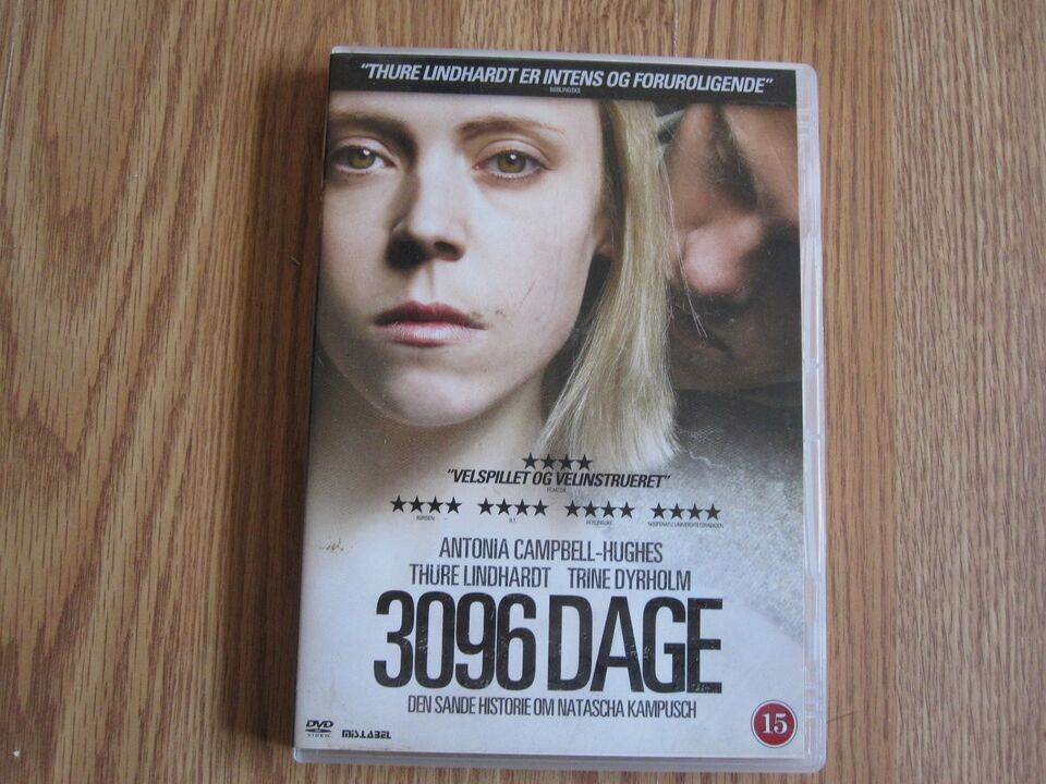 3096 dage, DVD, drama