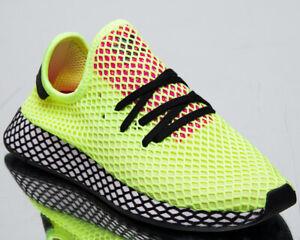 Details zu Adidas Original Deerupt Runner Herren Neu Gelb Schwarz Lifestyle Sneakers Cg5943
