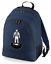 Football-TEAM-KIT-COLOURS-West-Bromwich-Supporter-unisex-backpack-rucksack-bag miniatuur 3