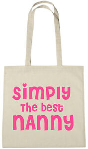 Image Is Loading Simply Best Nanny Bag Xmas Gift Ideas Birthday