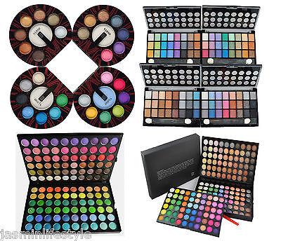 Glitzy Eye Shadow Blusher Palette Shimmer Matte Colors Set Make Up 8 24 120 180