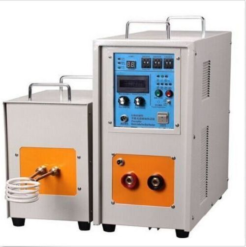 40KW 30-80KHz High Frequency Induction Heater Furnace LH-40AB US a