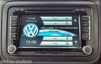 "RNS510 STYLE HD DVD GPS SAT NAV 7"" VW PASSAT TOURAN GOLF MK5 6 T5 POLO RN 510"