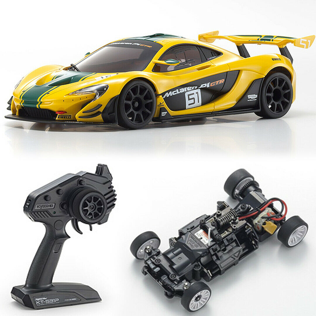 nuovo Kyosho MINI-Z RWD McLaren P1 GTR YEL  GRN Touring auto MR-03 RS gratuito US SHIP  alta qualità generale