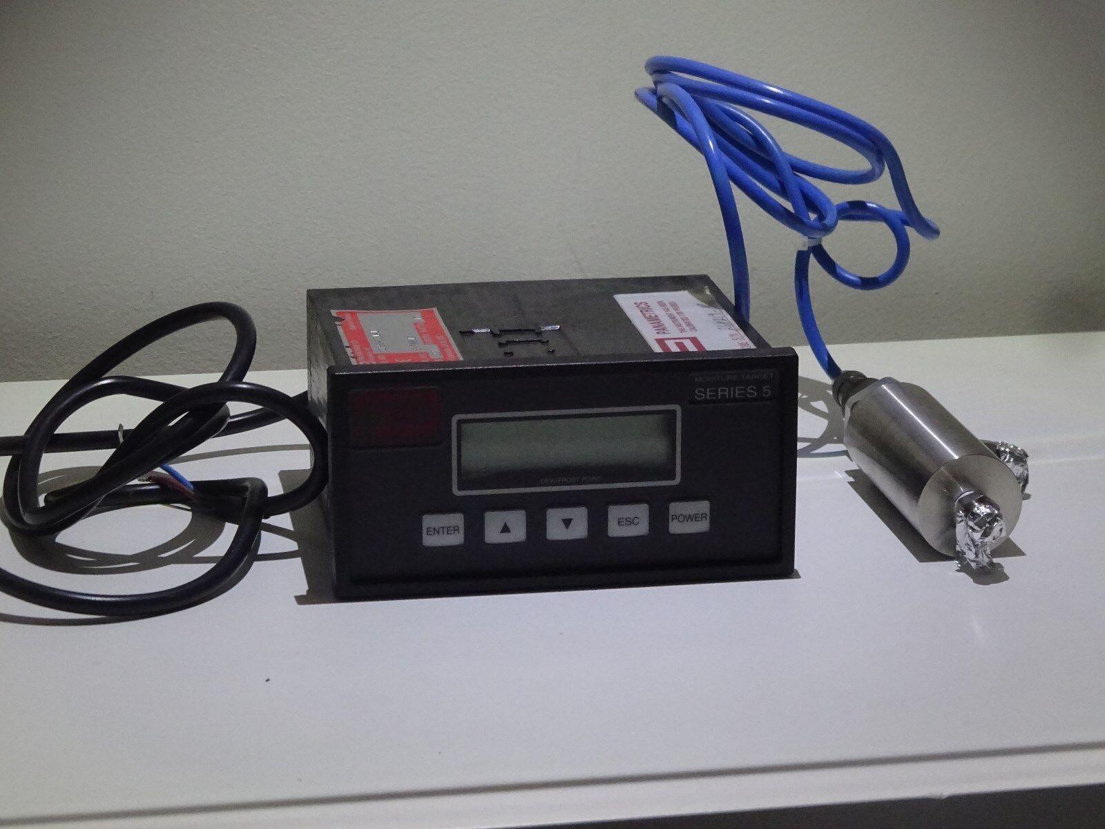 GE Sensing hygrometre Moisture Monitor panametrics Series 5 with Probe   Cable