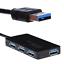 Super High Speed 4 Port USB 3.0 HUB Splitter Adapter Converter For PC Laptop New