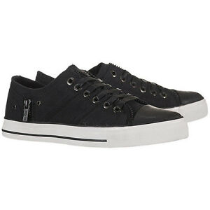 Levis 515074 01A Zip Ex Low Canvas Men's M Black Canvas Skate Shoes Black UK Official Store