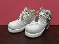 1/4 BJD White Lolita shoes A fits MSD Mini Super Dollfie MDD Obitsu 50cm SALE