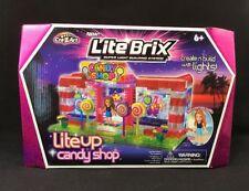 Lite Brix Light up Candy Shop Building Block Kit Set by CRA-Z-ART | eBay