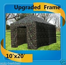 10'x20' Pop Up Canopy Party Tent EZ - Camouflage - F Model Upgraded Frame