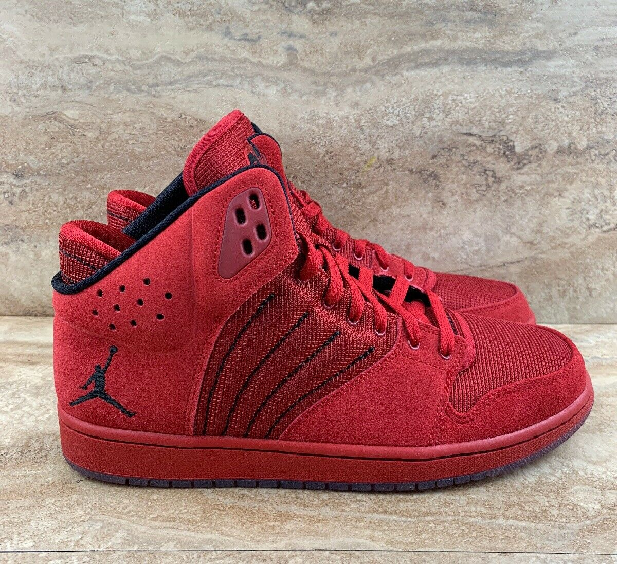 Nike Air Jordan 1 Flight 4 Men's shoes Sneakers Red Retro