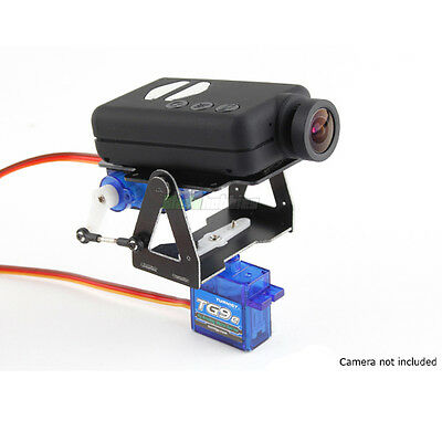 MOBIUS CAMERA PAN & TILT MOUNT INC TURNIGY SERVOS FOR FPV PLANE QUAD FATSHARK UK
