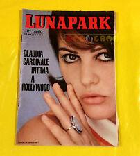 LUNA PARK 1965 n. 21 Claudia Cardinale, Edy Campagnoli, Walter Chiari