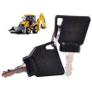2PCS-Ignition-Keys-Replacement-70145501-701-45501-for-JCB-Parts-3CX-Excavator