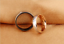 Anelli-Anello-Coppia-Fedi-Fede-Fedine-Fidanzamento-Nuziali-Cristallo-Oro-Argento miniatura 3