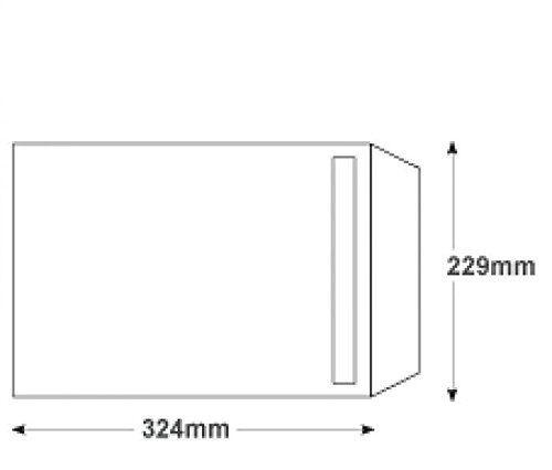 research.unir.net BOX OF 250 QUALITY C4 PLAIN WHITE ENEVELOPES ...