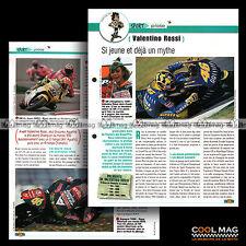 #jbt07.004 ★ VALENTINO ROSSI Pilote COURSE CHAMPION ★ Fiche Moto Motorcycle Card