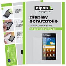 6x dipos Samsung Galaxy S2 i9100 matte Displayschutzfolie Antireflex Testsieger