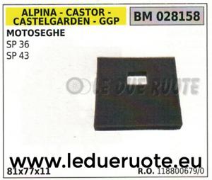 1188006790 Spugna Filtro Aria Motosega Alpina Stiga Castelgarden Ggp Sp 36 43 Laissons Nos Produits Aller Au Monde