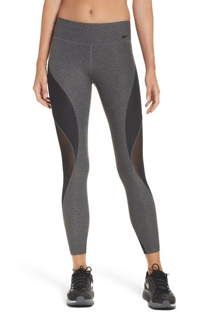 MEW NIKE POWER LEGEND WOMEN'S SZ M TRAINING TIGHTS 861592 071
