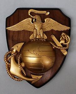 HUGE XL USMC MARINE CORPS EGA EAGLE GLOBE ANCHOR INSIGNIA ...  HUGE XL USMC MA...