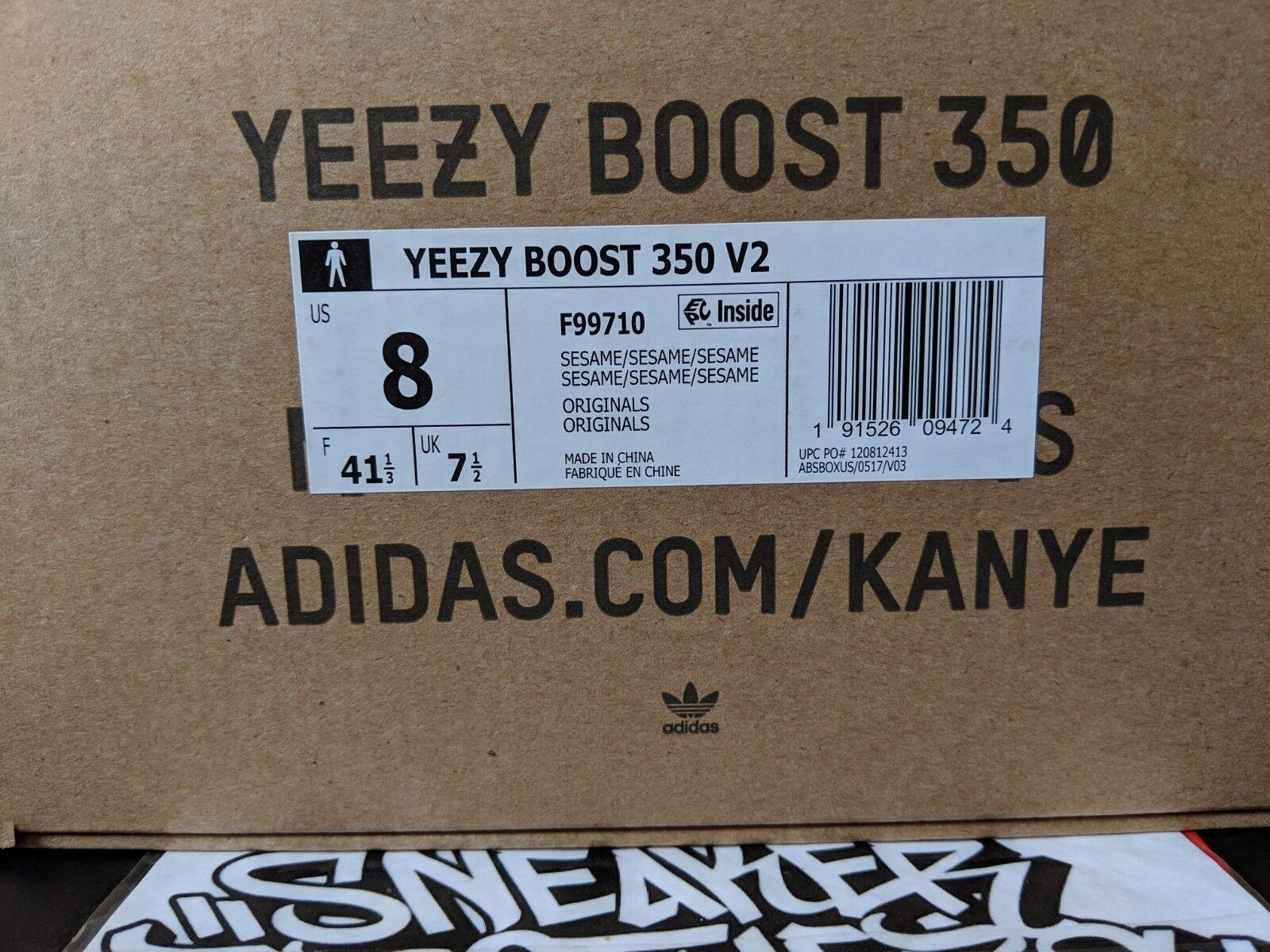 Adidas yeezy impulso 350 v2 v2 v2 sesame kanye west, fede f99710   Diversificate Nella Confezione    Scolaro/Ragazze Scarpa  0ba514