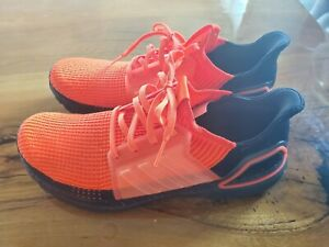 Mens-Adidas-Ultraboost-19-M-Running-Shoe-Solar-Red-Core-G27131-Size-11-5