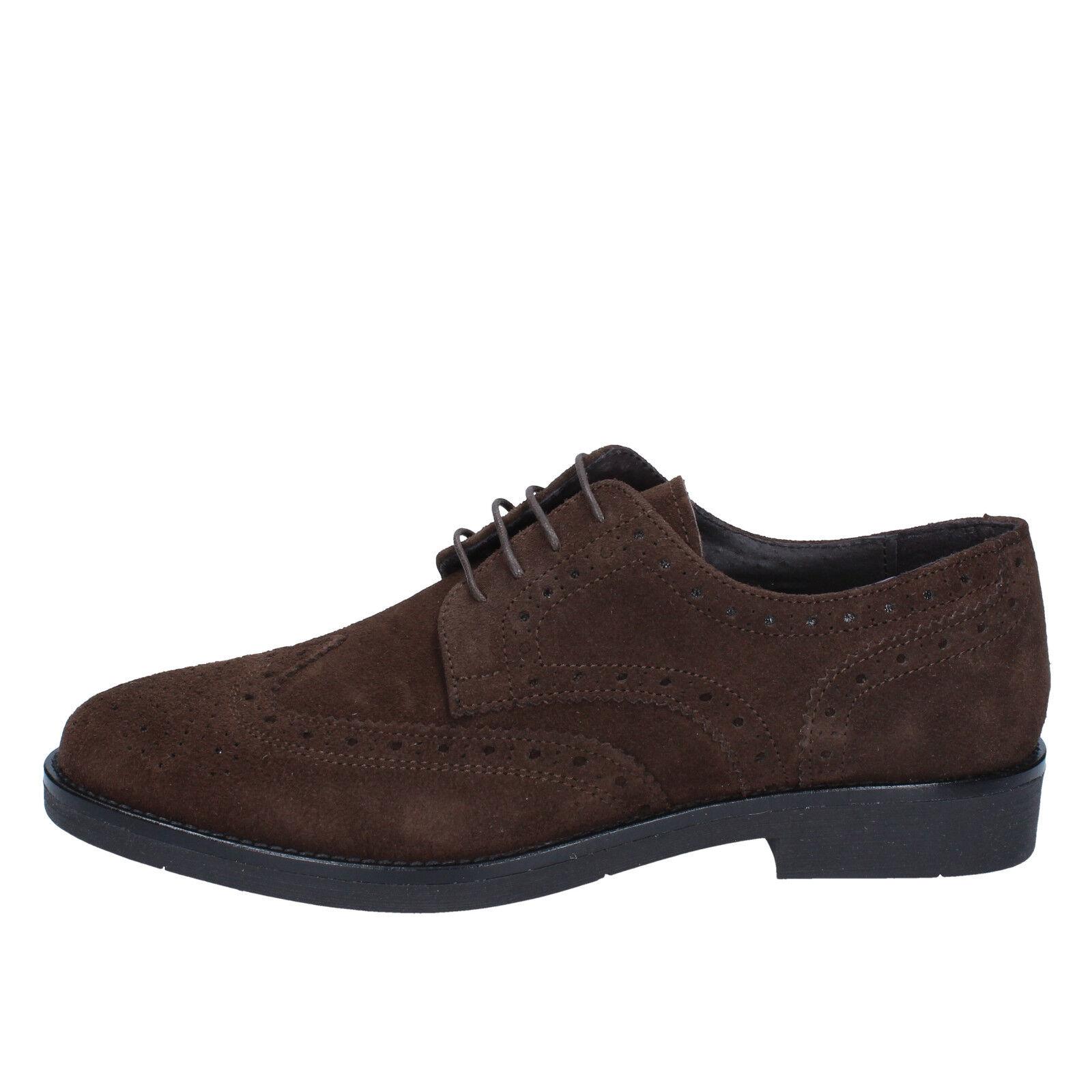 scarpe elegante uomo J. BREITLIN 42 elegante scarpe t. moro camoscio BX164-42 1b8a56