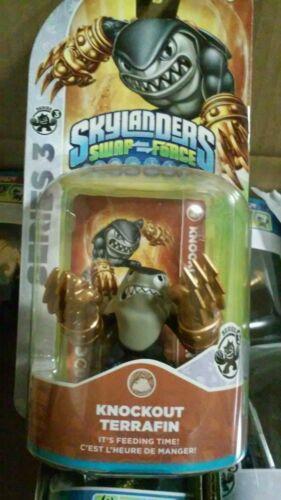 Skylanders Swap Force Figure Knockout Terrafin Free Shipping In A Box Very Fast