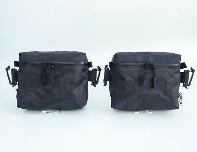 Pair Tread Lite Gear Hybrid Cuben Fiber Rucksack Hip Belt Pockets Ultralight 28g